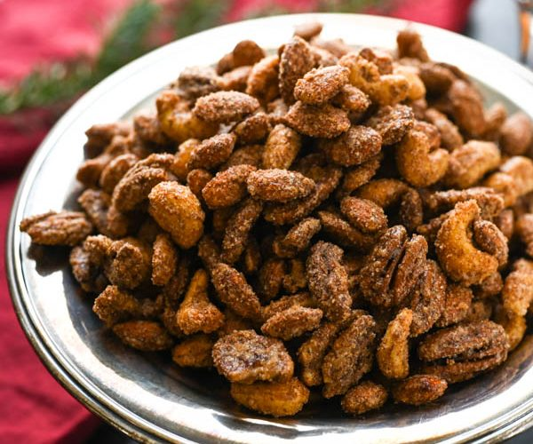 Sweet Spicy Christmas Nuts