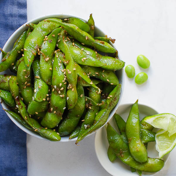 how to eat blistered edamame