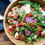 Tangy Green Bean Ciliegene Salad | Garlic + Zest
