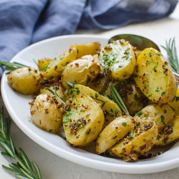 Rosemary-Mustard Potatoes