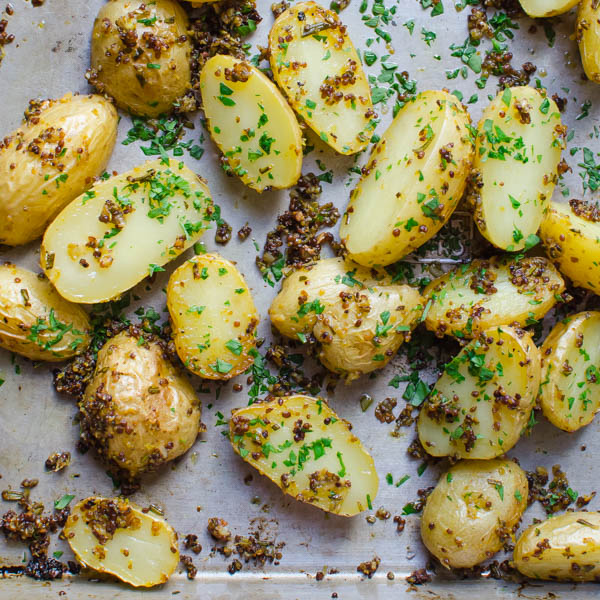 Scored Potatoes Recipe: Roasted Duck Fat Potatoes