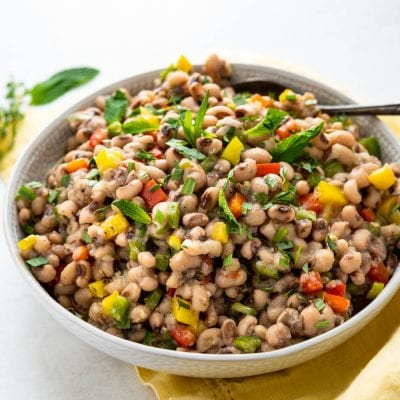How To Make Southern Black Eyed Pea Salad