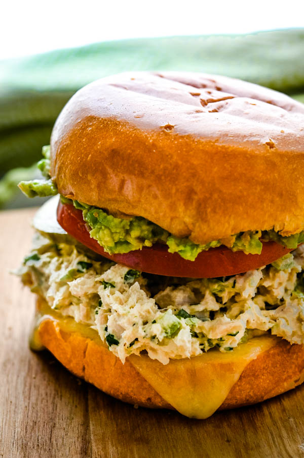 Best Canned Tuna Salad Sandwich.