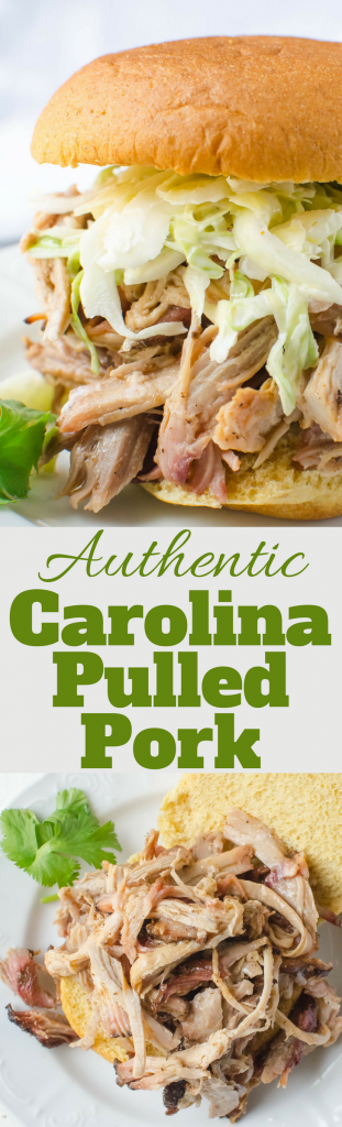 This authentic Carolina Pulled Pork recipe is the real deal. With a simple spice rub and mop sauce, it yields tender, flavorful smoked pork.