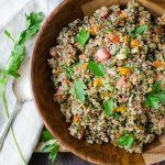 Tangy Lentils and Quinoa