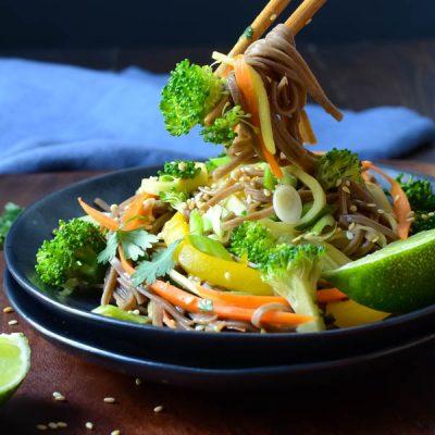 Cold Soba Salad