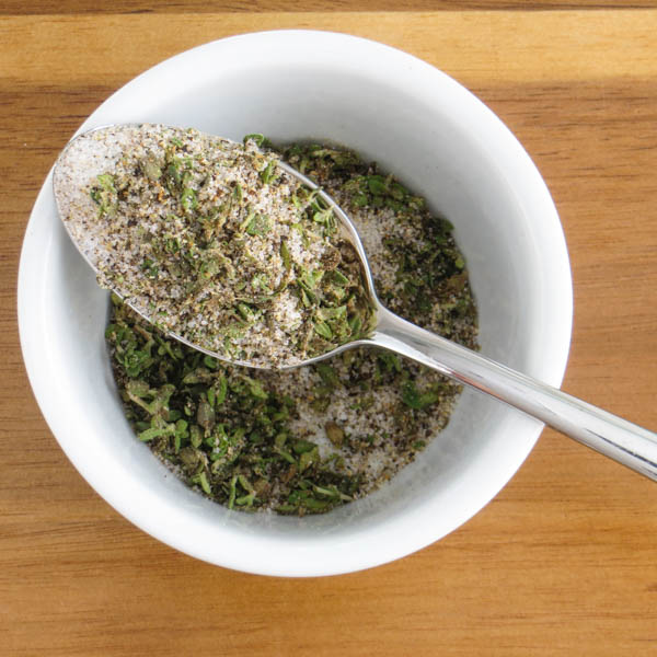 herb and spice blend in a bowl