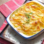 Creamy Scalloped Potatoes with Thyme