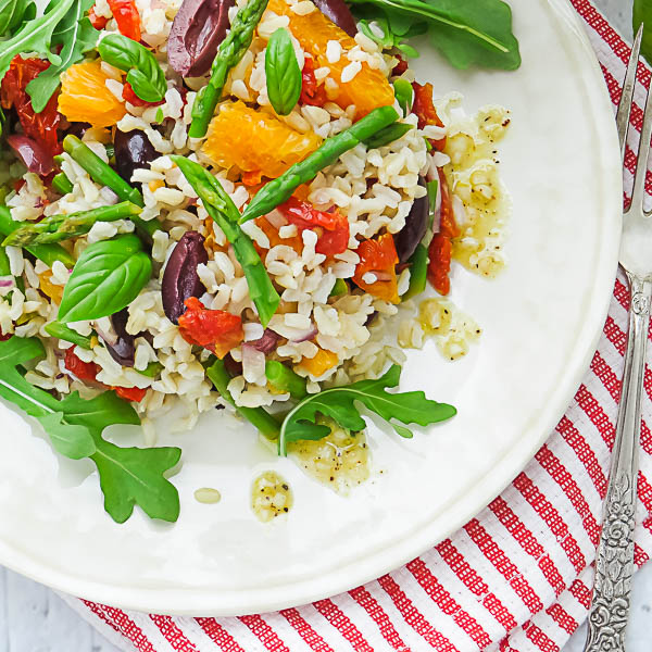 Sicilian-Style Brown Rice Salad