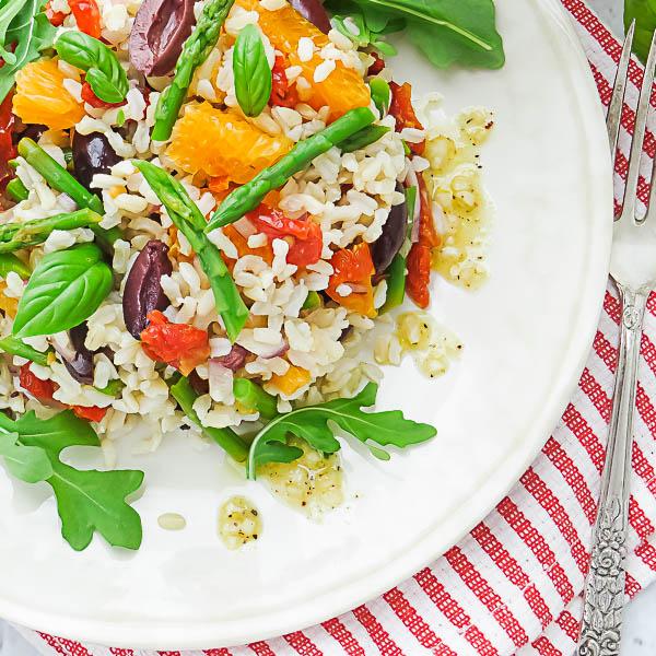Sicilian-Style Brown Rice Salad