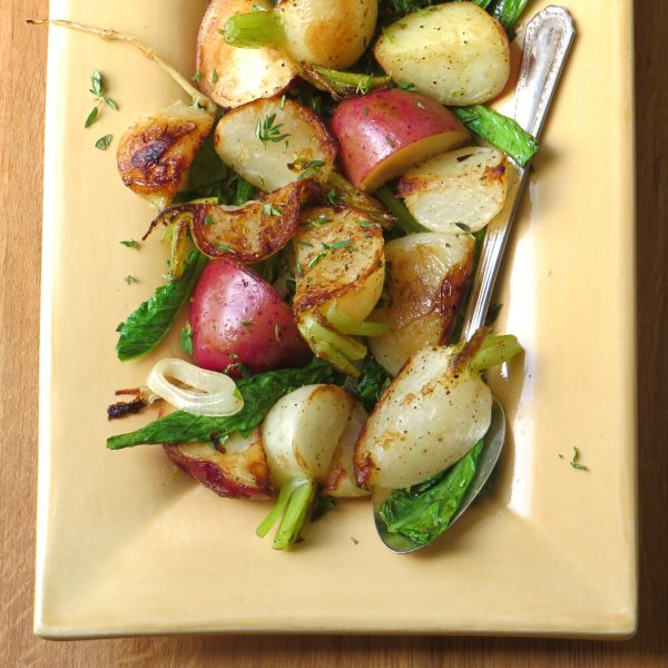 Turnips Potatoes and Greens