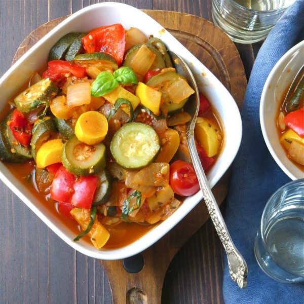 Summer Vegetable Saute | Garlic + Zest