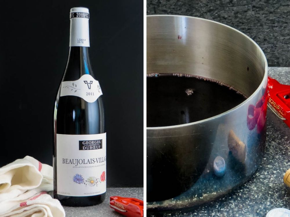 making red wine reduction