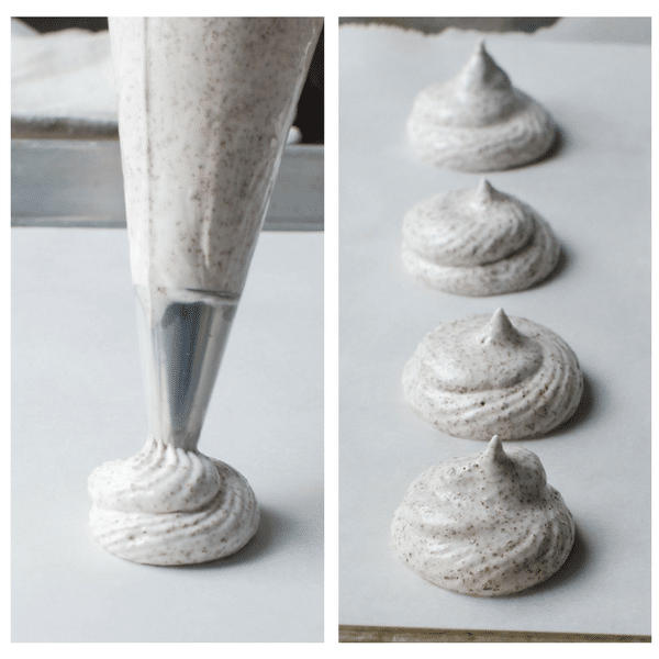piping meringue