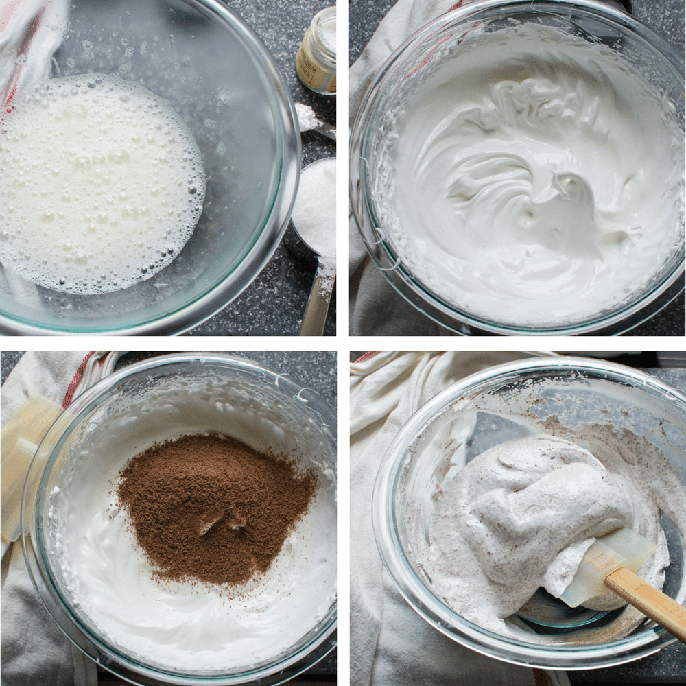 steps for making the meringue