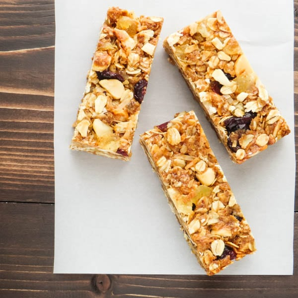 3 Pineapple Macadamia Granola Bars