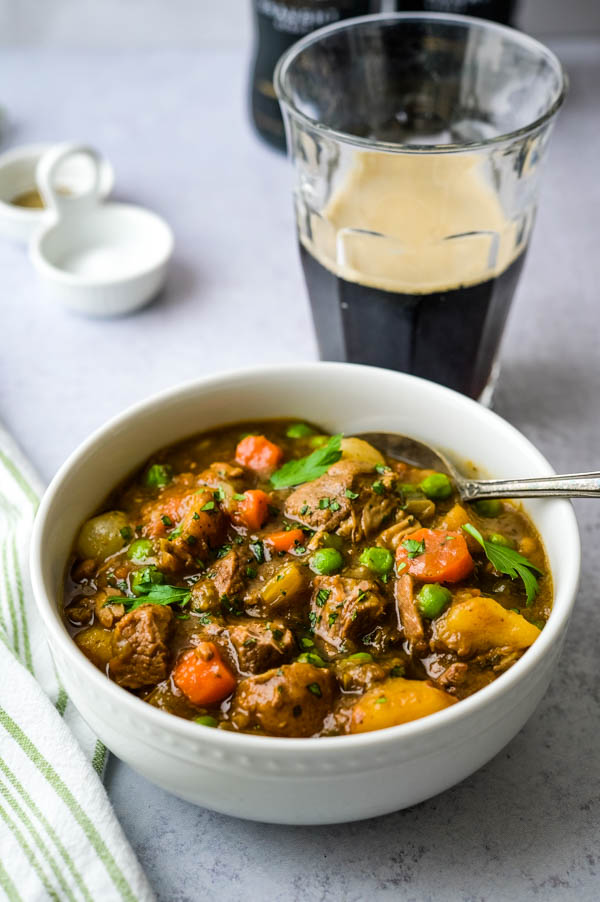 Slow cooked lamb is perfect for a St. Patrick's Day meal.