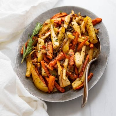 The Best Oven Roasted Carrots and Parsnips