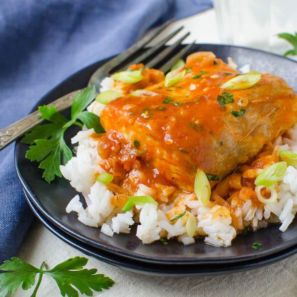 Spicy Caribbean Mahi Mahi
