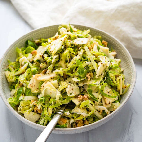 brussel fennel slaw.