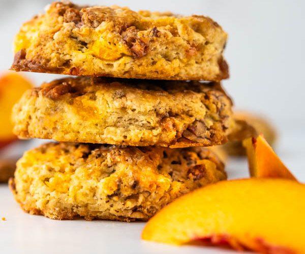 Southern Praline and Peach scones recipe