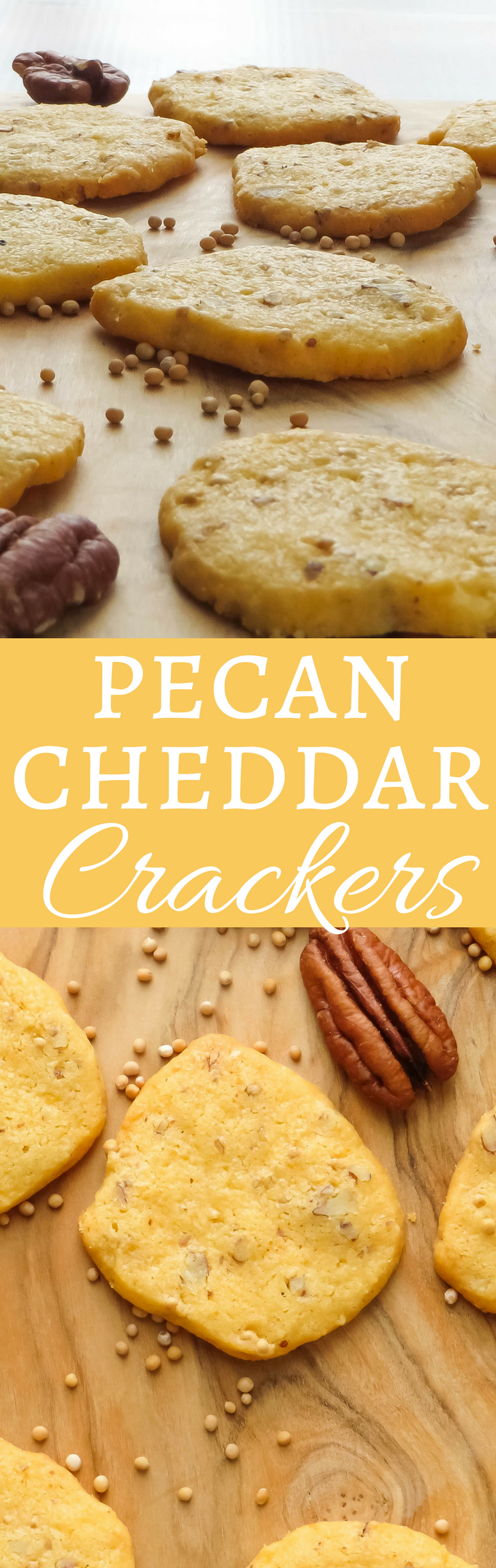 An easy recipe for cheesy, flaky crackers that are assembled in the food processor and can be made ahead.  Tastes like a grown up Cheez-It!