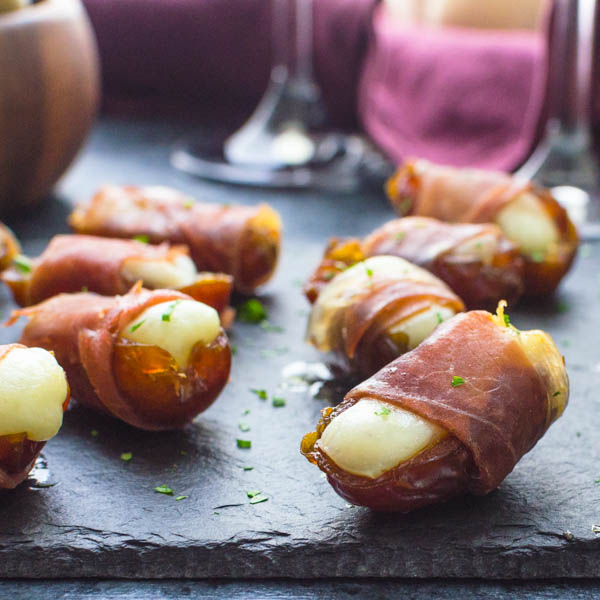 Manchego Stuffed Date Appetizers