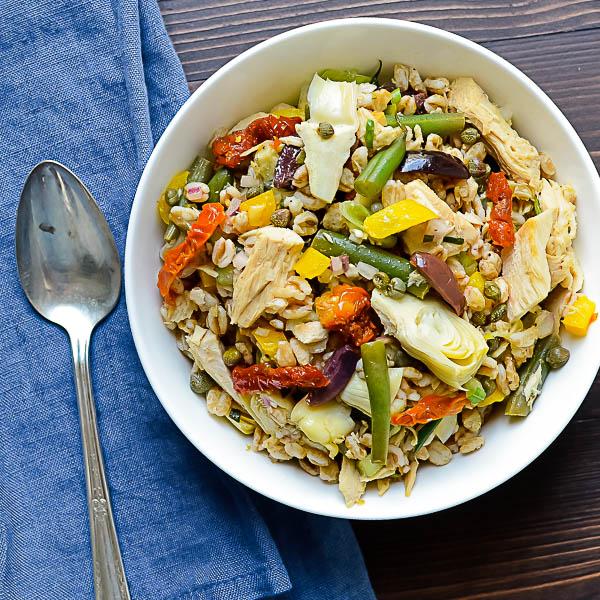 Nicoise Farro Salad