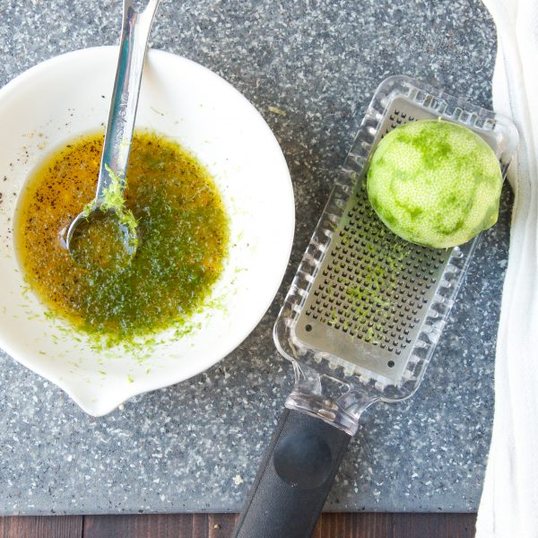 lime, dressing, microplane