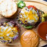 Barbecue Bacon Cheeseburgers | Garlic + Zest