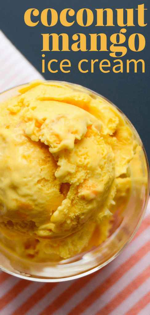 How To Make Mango Ice Cream At Home With Pictures