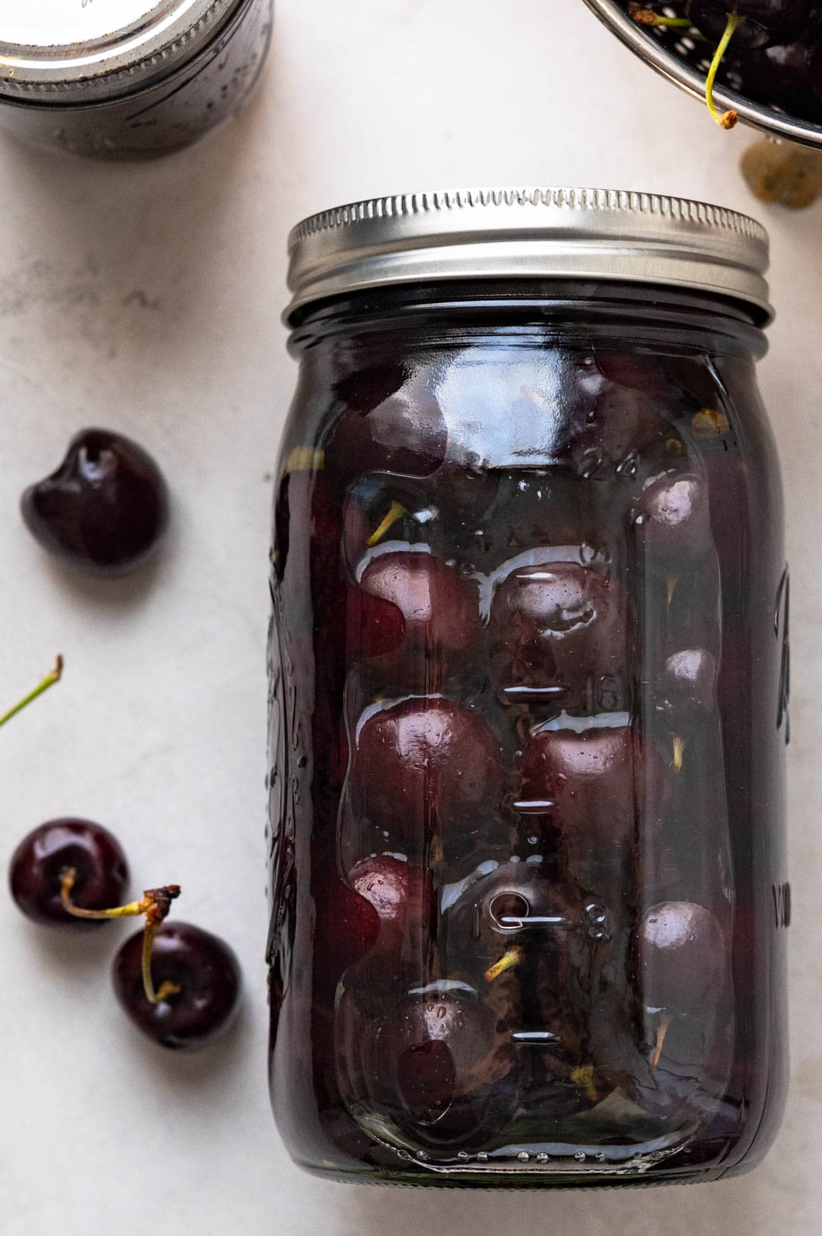 drunken cherries | Garlic + Zest