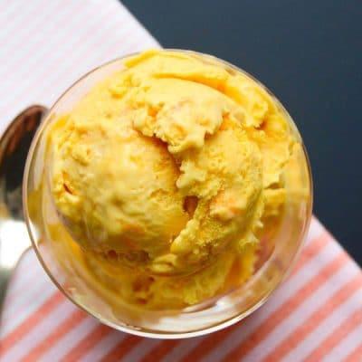 Coconut Mango Ice Cream