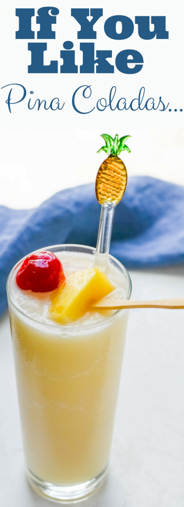 If You Like Pina Coladas... and who doesn't? This classic pina colada recipe is everything you want in an icy tropical drink! Don't forget the garnish!