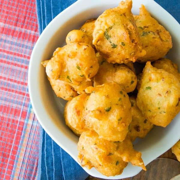 Accras De Morue Garlic Zest
