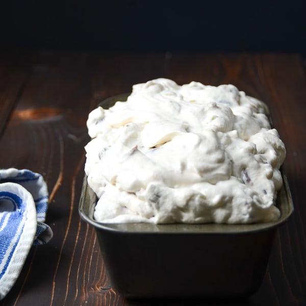 cherry nougat crunch ice cream   Garlic + Zest
