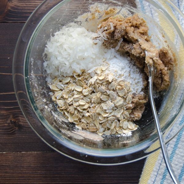 pineapple coconut buckle | Garlic + Zest