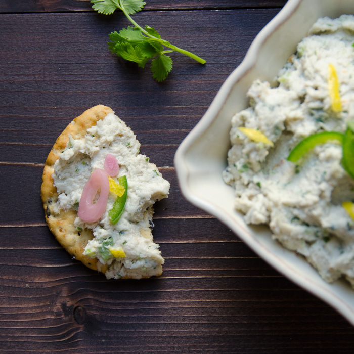 smoked fish dip | Garlic + Zest