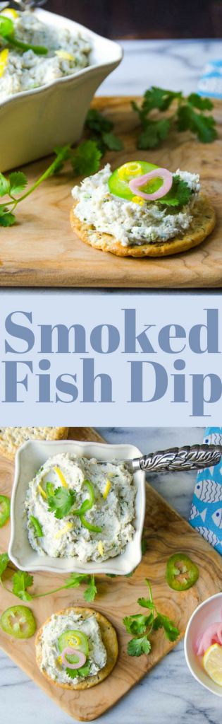 The BEST recipe for Smoked Fish Dip in Florida! Make it a day ahead so the flavors will marry! Delicious with pickled onions and jalapenos!