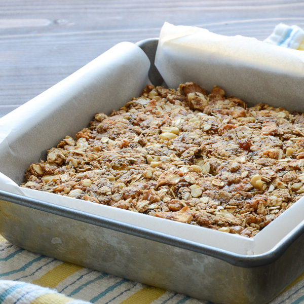 baked Apple Walnut Spice Granola