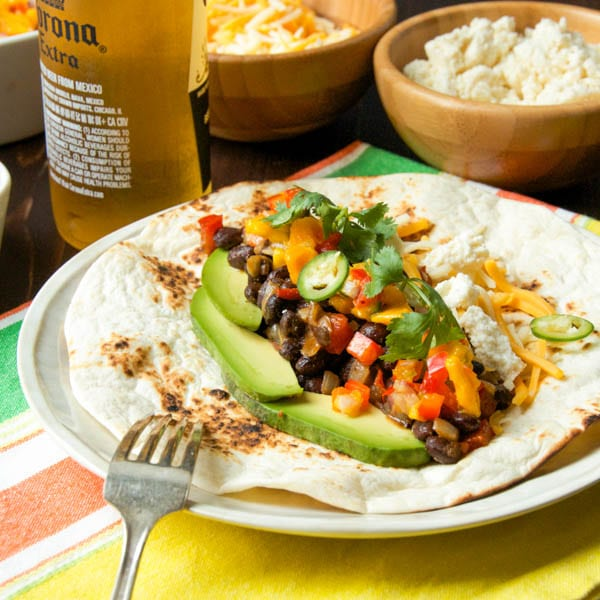 Smoky Black Bean Tacos