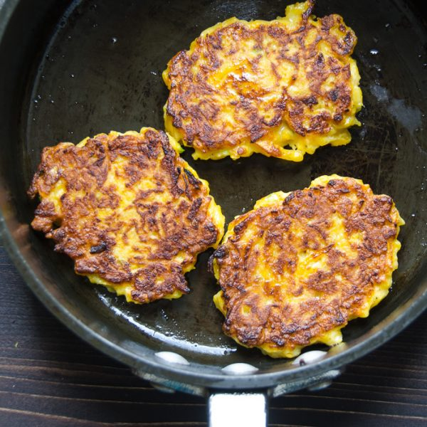 browning butternut fritters.