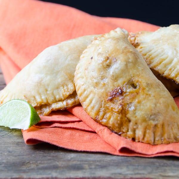 smoky turkey empanadas | Garlic + Zest