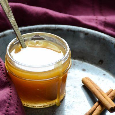 Spiced Cider Rum Sauce