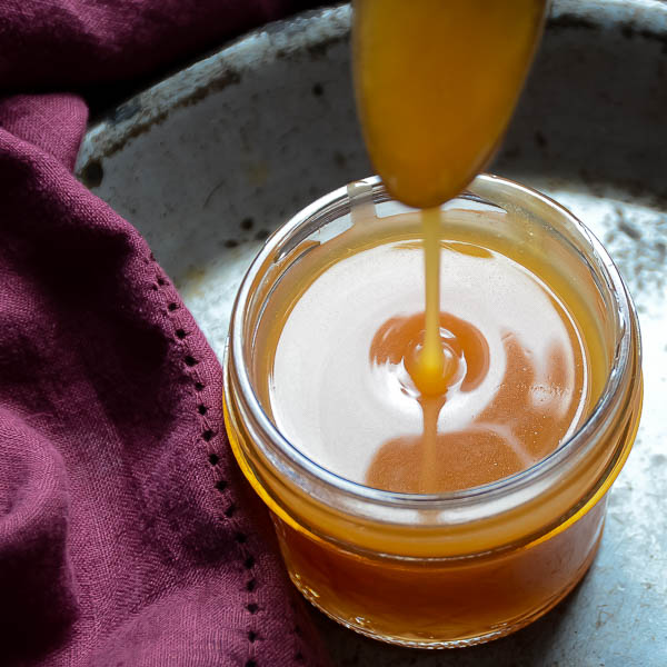 Spiced Cider Rum Sauce drizzle