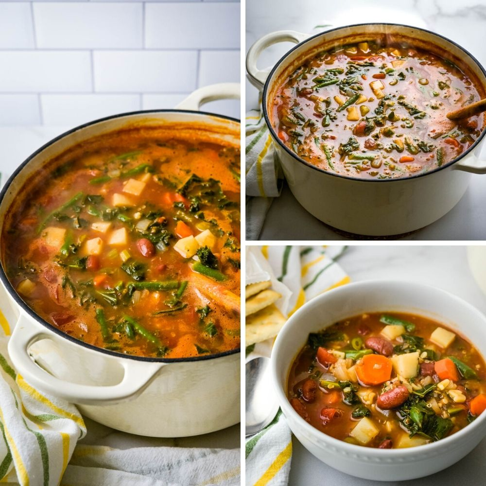 a cauldron full of italian soup.