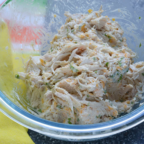 Tex-Mex Chicken Chile Rellenos | Garlic + Zest