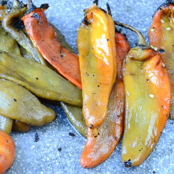 Tex-Mex Chicken Chile Rellenos   Garlic + Zest