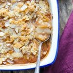 Ginger Pear and Almond Crumble