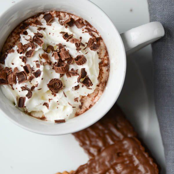 irish mocha latte |Garlic + Zest